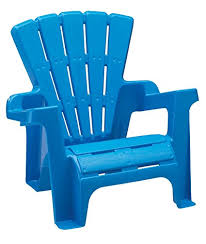 Plastic Beach Chairs Amazon Com American Plastic Toy Adirondack Chair Blue Toys U0026 Games