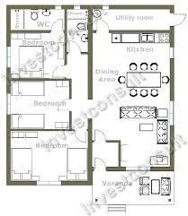 3 bedroom house floor plans 3 bedroom house floor plans home planning ideas 2018