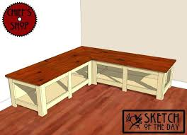 Corner Bench Seat With Storage Plans For Storage Bench Seat U2013 Dihuniversity Com