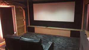 home cinema installation essex pattison cinema room youtube