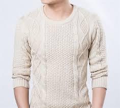 trendy sweater pullover brand winter warm knitting sleeve