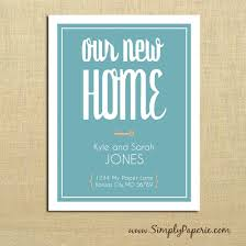 our new home moving announcements simply paperie