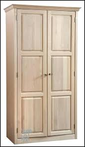oak kitchen pantry cabinet unfinished wood pantry cabinet hobo kitchen unfinished pantry