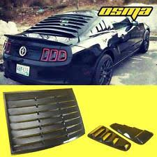 2014 mustang rear mustang rear window louvers ebay