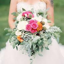 wedding flower boho chic wedding flower styles