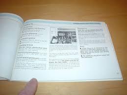 volkswagen t25 transporter owners manual handbook caravelle