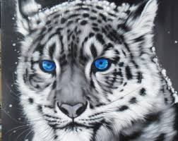 tiger painting etsy