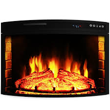 Electric Fireplace Insert Elite Flame 28 Inch Curved Electric Fireplace Insert