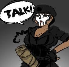 Six Meme - she has ways of making you talk rainbow six siege know your meme
