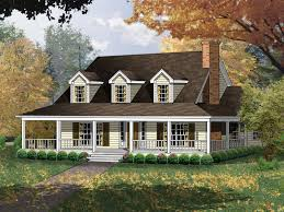 house plan with wrap around porch wrap around porch farmhouse homes floor plans designs cottage with