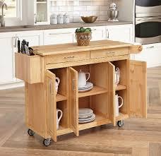 kitchen island with wood top 5 stylish kitchen islands in medium wood finish cute furniture