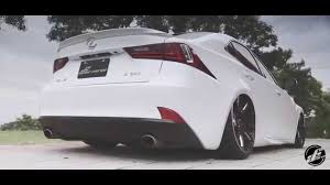 bagged lexus is250 airforce air suspension control system lexus is250 stance youtube