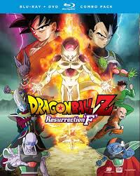 dragon ball resurrection u0027f u0027 headed dvd blu ray
