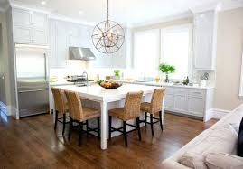 dining table kitchen island dining table combo attached ideas