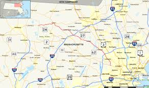 Map Of Massachusetts Counties by Massachusetts Route 225 Wikipedia
