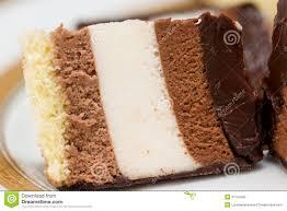 one slice of chocolate cake macro stock photography image 31164392