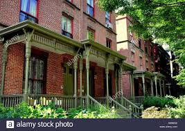 homes with porches new york city brick homes with wooden victorian porches and