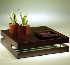 modern contemporary coffee table contemporary coffee table wooden square flex luisa peixoto
