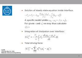 modelling of the motion of phase interfaces coupling of