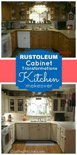 Rustoleum Paint For Kitchen Cabinets Best 25 Rustoleum Cabinet Transformation Ideas On Pinterest How