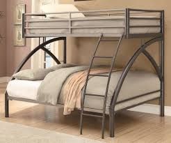 stylish and modern full size metal loft bed u2013 home improvement 2017