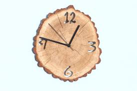 Unique Clock by Oak Clock Unique Wall Clocks Wall Clock Wood Big Clock
