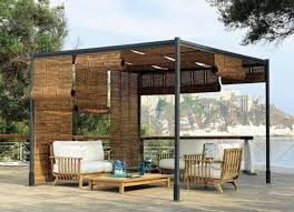 pergola design pergola design with orange curtains mangareader