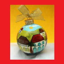 Christmas Ornaments Hand Painted by Caribbean Ornaments Hand Painted Christmas Ornaments St Thomas