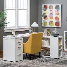 hudson l shaped desk white walmart com