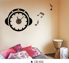 seller creative diy three dimensional wall sticker clock home cd 802 wallclock wall sticker best quality best