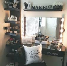 Beautiful Makeup Vanities Best 25 Bedroom Makeup Vanity Ideas On Pinterest Vanity Area