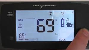 changing your thermostat between fahrenheit and celsius youtube