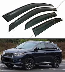 lexus rx 350 review philippines lexus rx350 f sport vip clip on weather rain guard window visor w