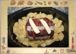 cuisiner un rosbeef roulé de boeuf au beurre aillé et persillé sauce rat goûtant