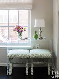 furniture for small spaces choosing furniture for small spaces better homes gardens