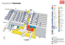 5 Train Map Karlsruhe Hauptbahnhof Map Central Train Station
