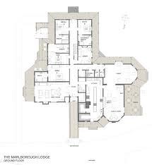 Floor Planning by Floor Plan Luxury Suites The Marlborough Lodge Nz