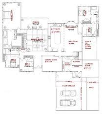 100 5 bedroom floor plans 1 story 5 bedroom house plans