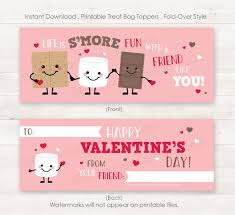 s day cards for school printable smores valentines school valentines valentines day