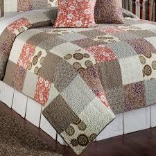 stella cotton patchwork quilt bed set