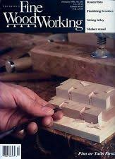 Good Woodworking Magazine Subscription by Fine Woodworking Magazine Ebay