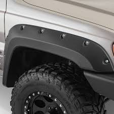 1999 jeep laredo bushwacker jeep grand 1999 2004 cut out fender flares