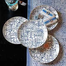 hanukkah tableware hanukkah plates williams sonoma hanukkah dishes