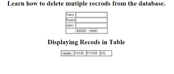 Mysql Delete From Table How To Delete Multiple Records In Php