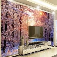 winte snow sunshine tree hd photo wallpaper sofa tv background winte snow sunshine tree hd photo wallpaper sofa tv background murals wall art decor abstract wall paper rolls 3d custom size in wallpapers from home