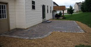 Simple Paver Patio Deer Valley Landscaping Portfolio York County South Central