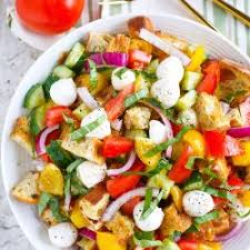 Light Summer Dinners Summer Panzanella Table For Two