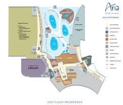 Las Vegas Casino Floor Plans Aria Property Map Las Vegas Maps