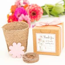 flower seed wedding favors mini seed paper flower garden gift set personalized wedding favors