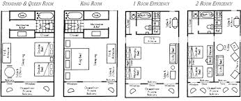 Floor Plan For Hotel Floor Plans Of The Hotel Rooms At The Dunes Manor Hotel The For